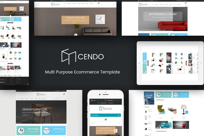 Thumbnail for Cendo - Responsive Prestashop Furniture Theme