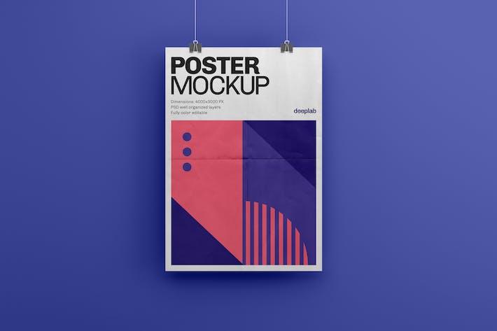 Thumbnail for Vertical Poster Mockup