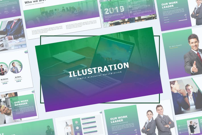 Thumbnail for ILLUSTRATION - Keynote Template