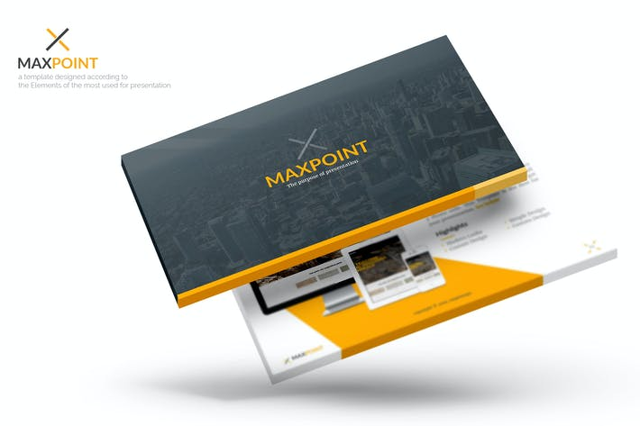 Thumbnail for Maxpoint Powerpoint Template