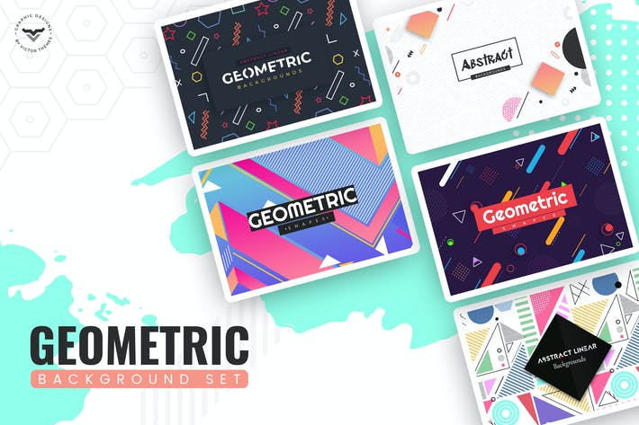 Thumbnail for Geometric Background