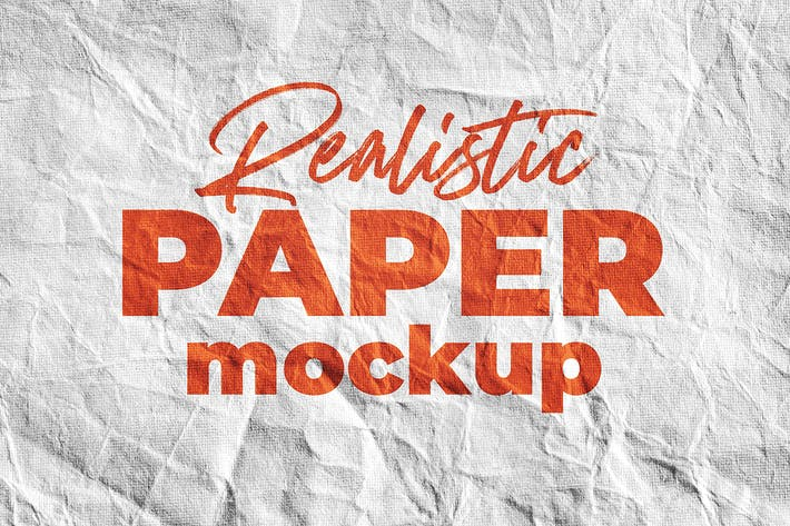 Thumbnail for SGM - Paper Logo Mockup. 01