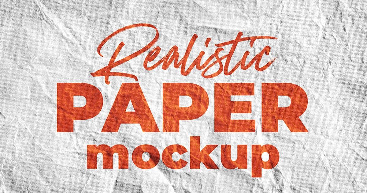 Download SGM - Paper Logo Mockup. 01 by sagesmask