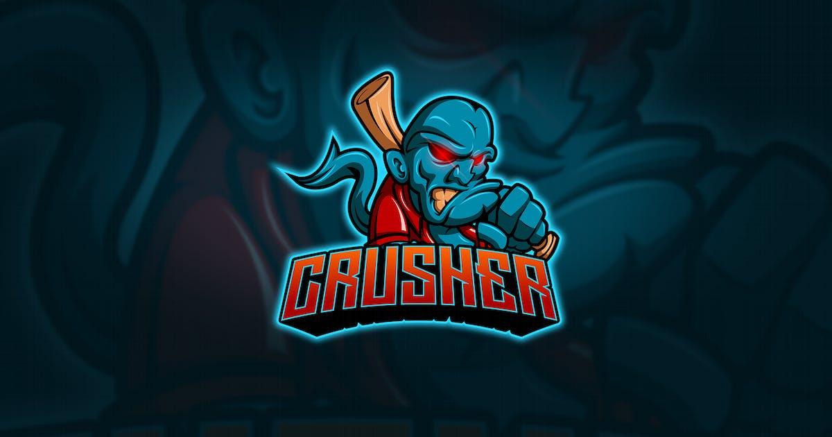 Download Crusher - Mascot & Esport Logo by aqrstudio