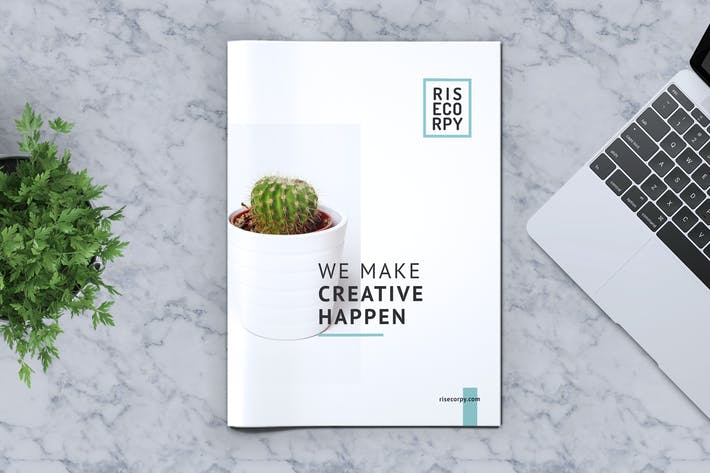 Thumbnail for Creative Brochure Template Vol. 41
