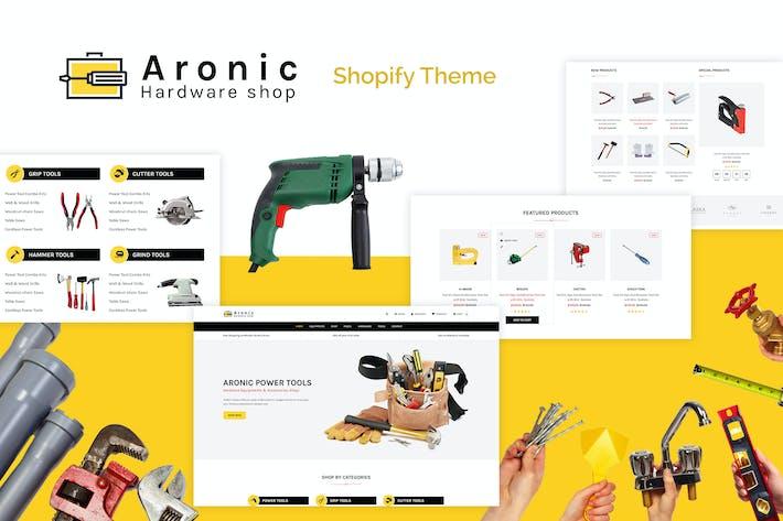 Thumbnail for Aronic | Matériel & Outil Responsive Shopify Thème