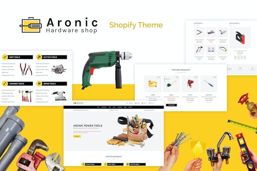 Aronic | Hardware & Tool Responsive Shopify Theme