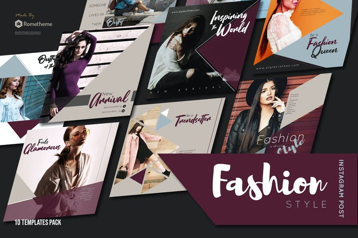 Thumbnail for Fashion Style Instagram Post vol. 01