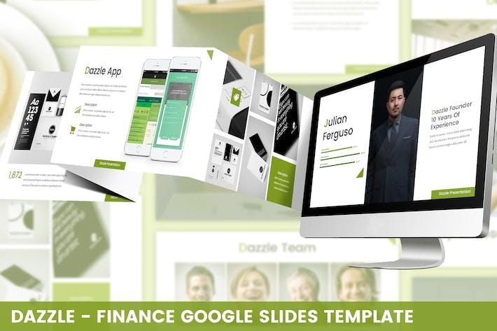 Thumbnail for Dazzle - Finance Google Slides Template