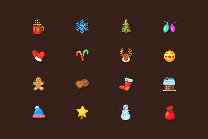 Thumbnail for Weihnachten Icons Pack