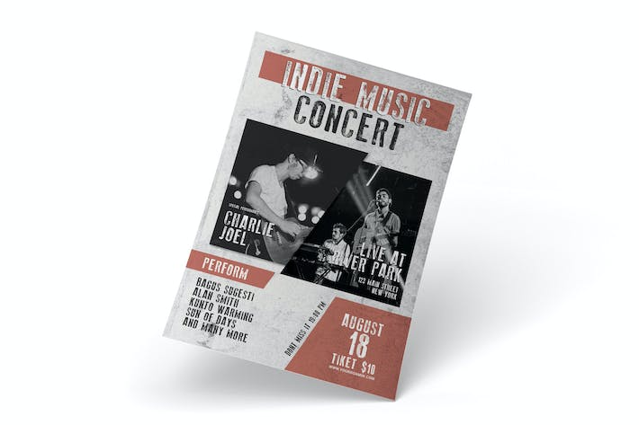 Indie Music Concert - Poster RZ