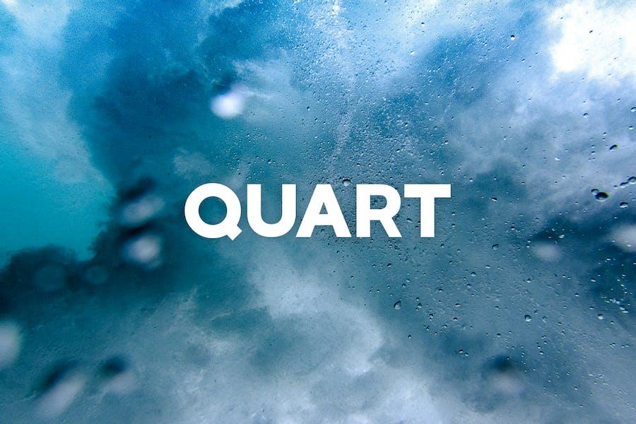 QUART - Unique Display / Headline Typeface