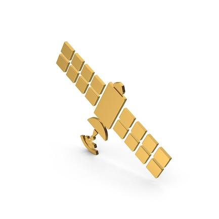 Symbol Satellite Gold