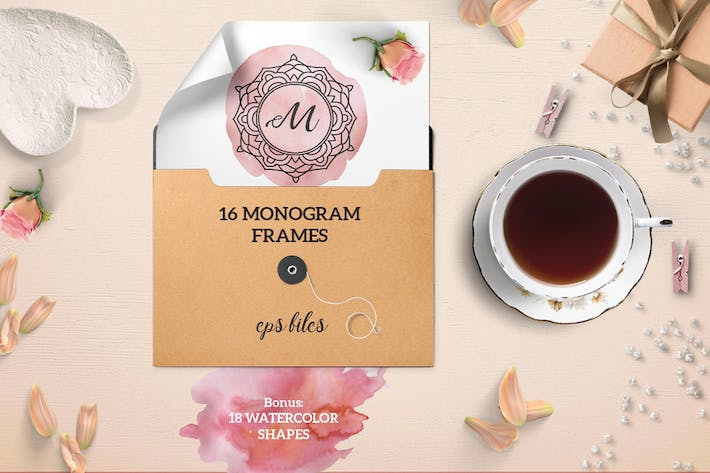 Thumbnail for Monograms Frames