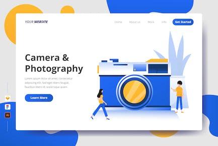 Camera & Photography - Landing Page