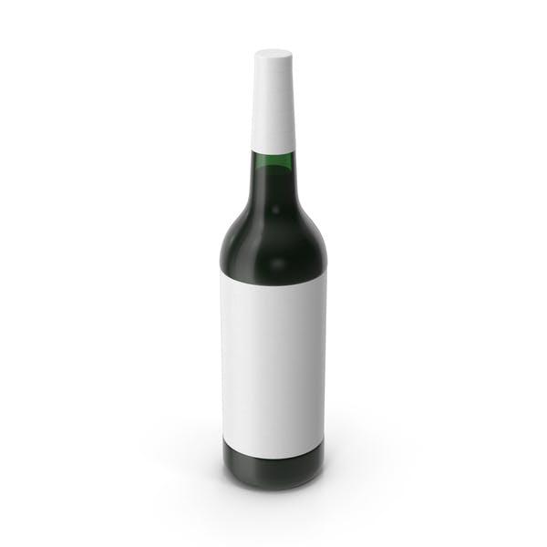 Бутылка вина Белая