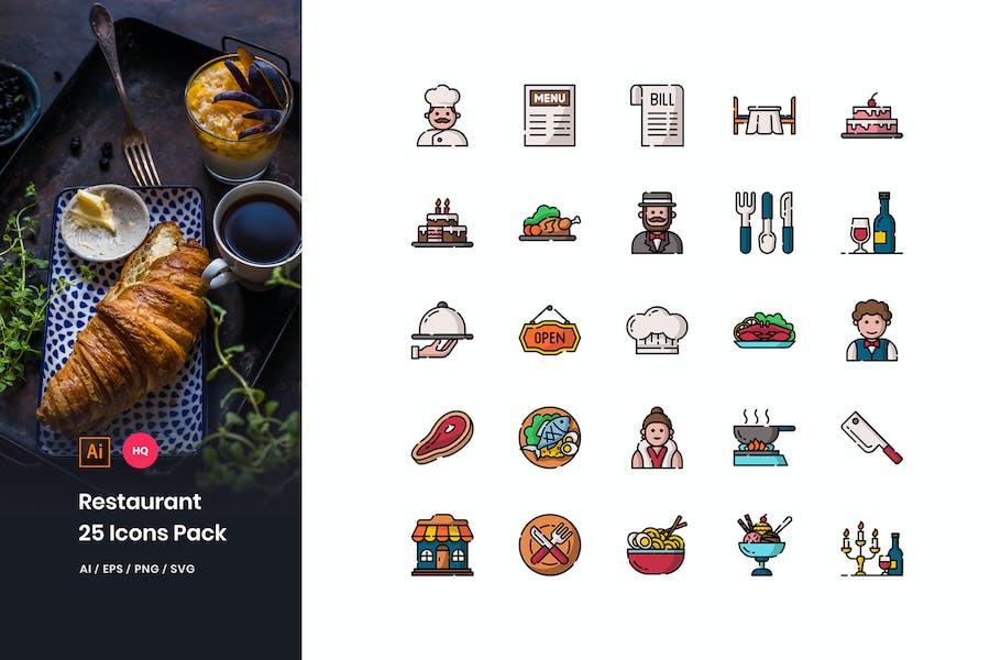 Restaurant Icons Pack