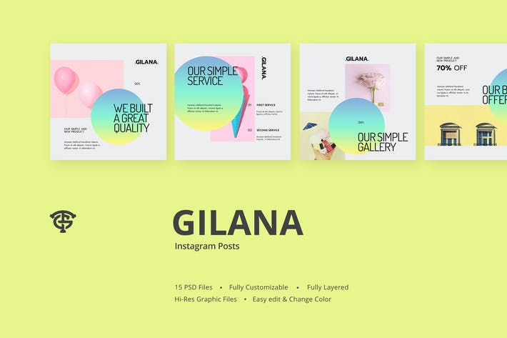 Thumbnail for Gilana - Instagram Posts