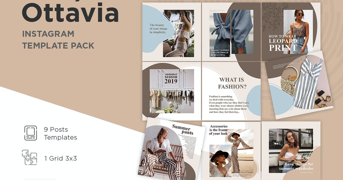 Download Instagram Template Puzzle - Ottavia by Temaphoto
