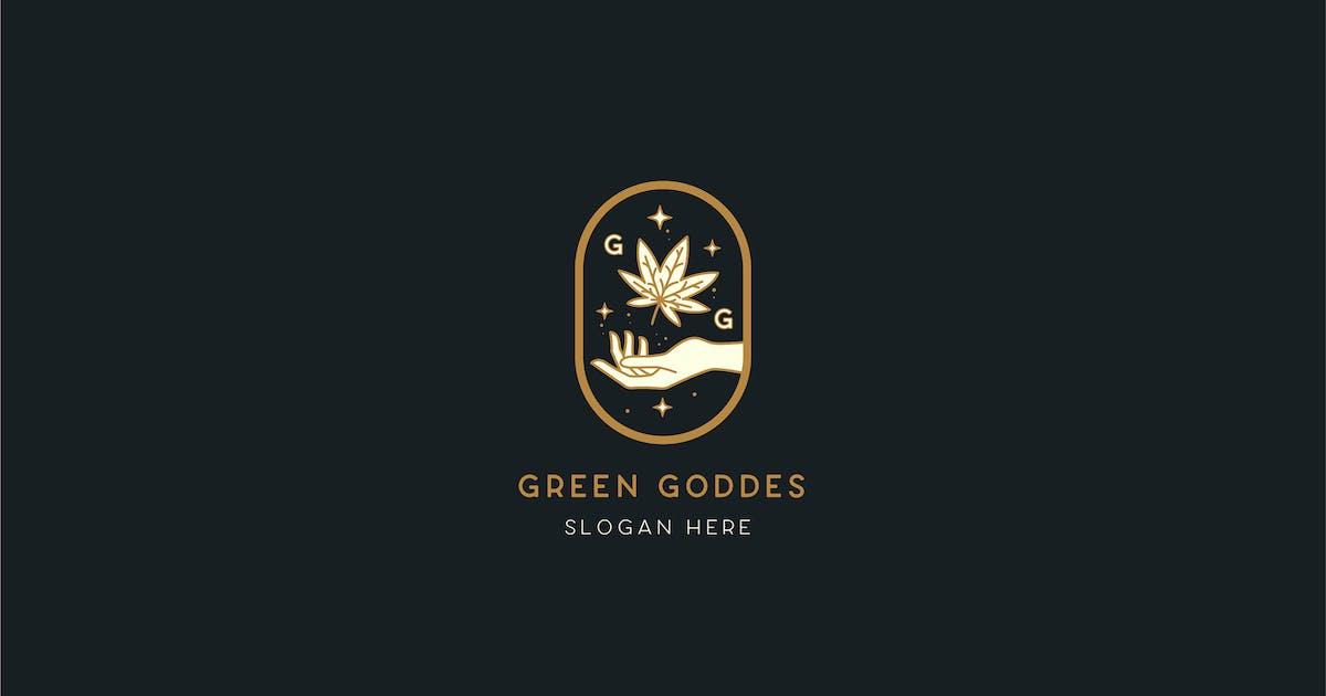 Download Green Goddess Logo Template by NEWFLIX