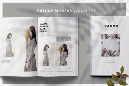 Business Magazine Minimal Template - LS