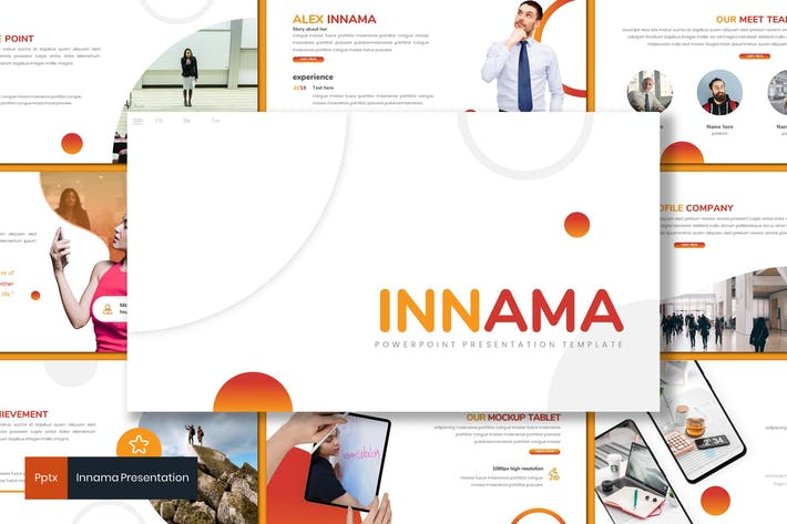 Thumbnail for Innama - Business Powerpoint Template