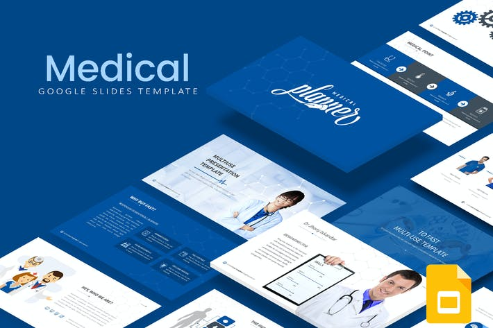 Thumbnail for Medical Google Slides Template
