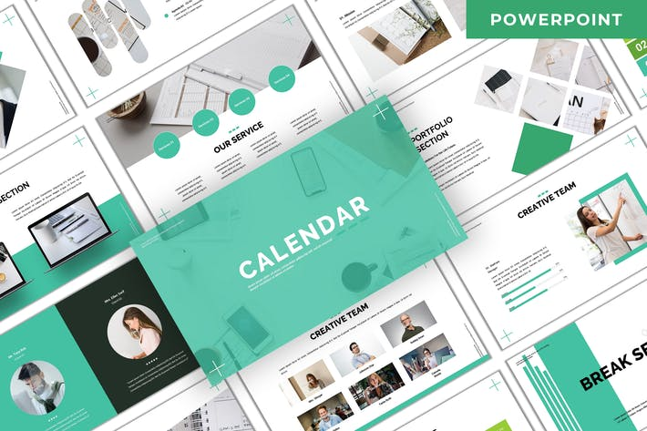 Thumbnail for Calendar - Business Powerpoint Template