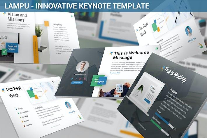 Thumbnail for Lampu - Innovative Keynote Template