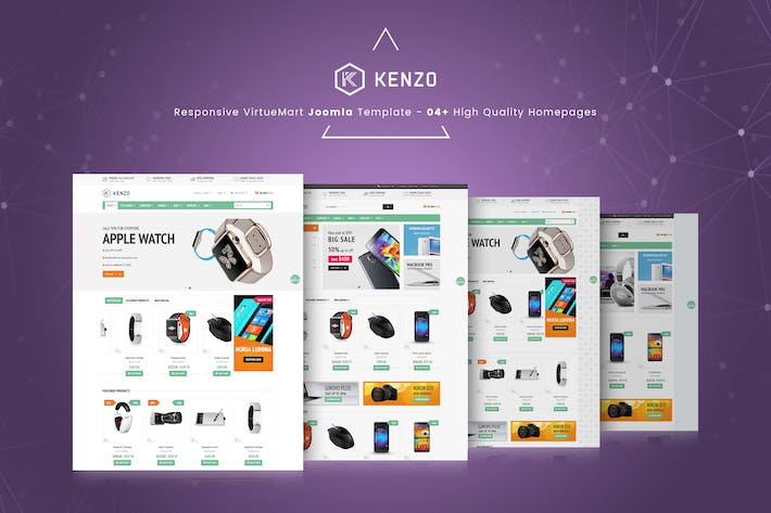 Thumbnail for Kenzo - Responsive VirtueMart Joomla Template