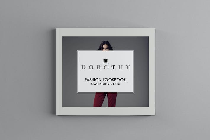 Thumbnail for Dorothy - Square Fashion Brochure Template