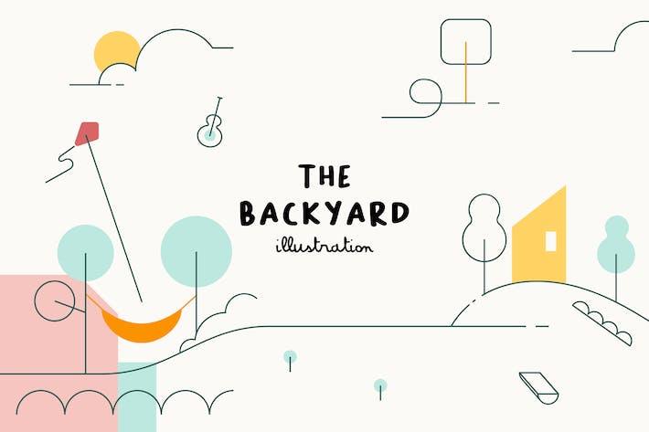 Thumbnail for ILLUSTRATION - Backyard