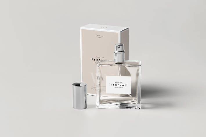 Cover Image For Perfume Mock-up