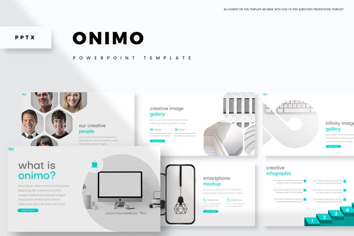 Cover Image For Onimo - Powerpoint Template