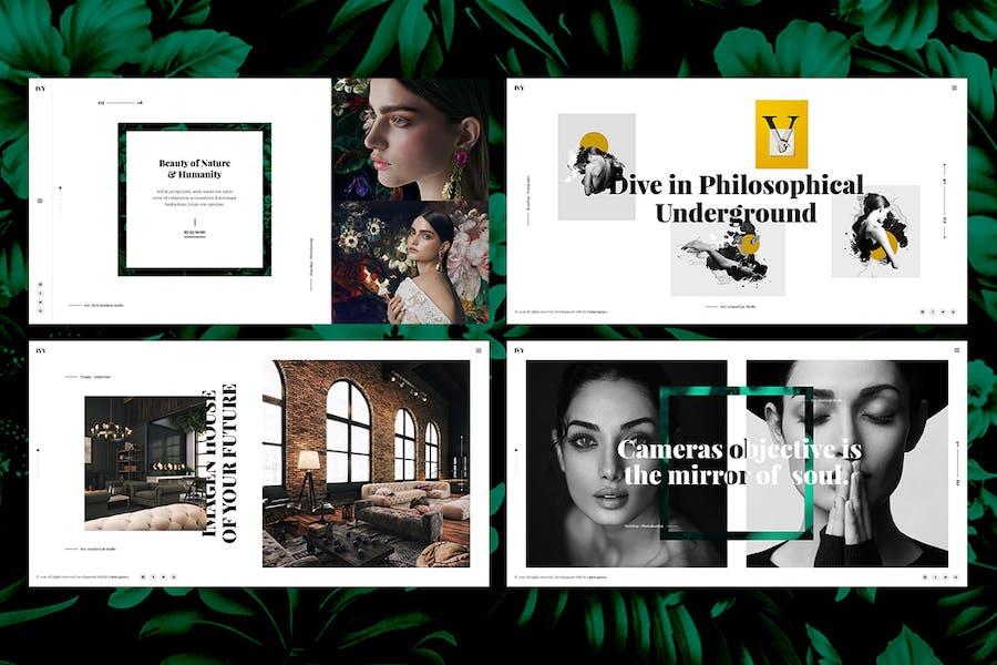 Ivy - Photography, Portfolio, Agency Html Template