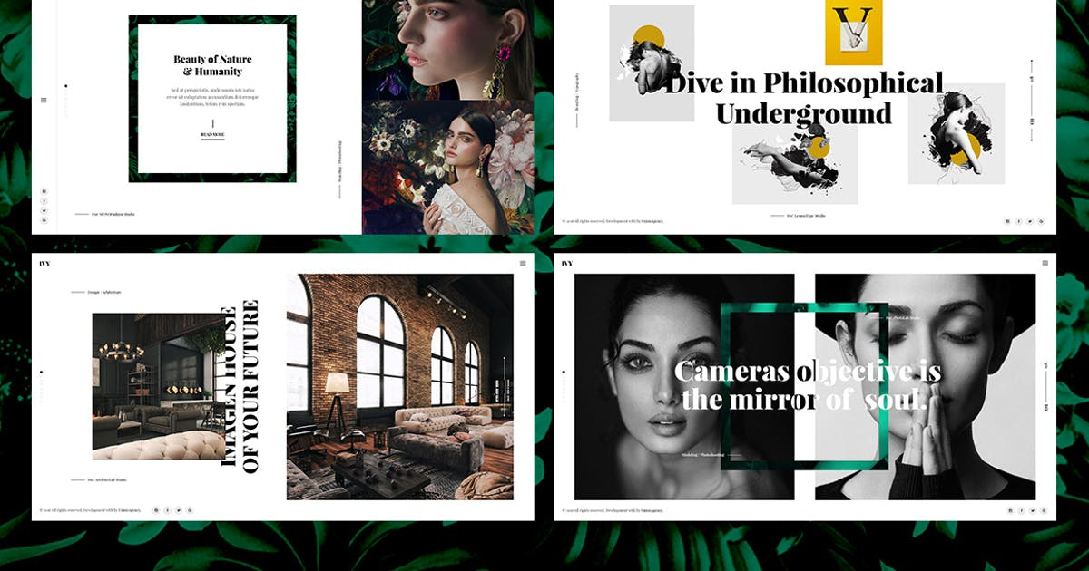 Download Ivy - Photography, Portfolio, Agency Html Template by UnionAgency