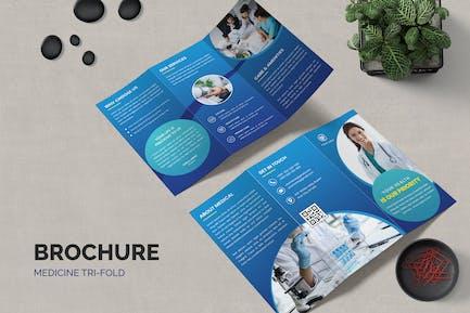 Medicine Trifold Brochure