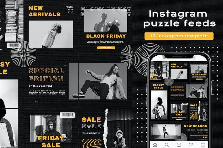 Instagram Puzzle - Friday sale