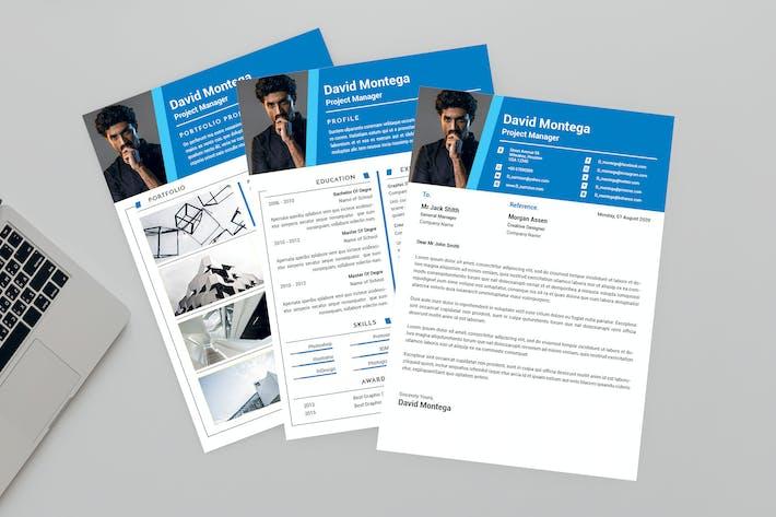 Thumbnail for Precious Resume Designer