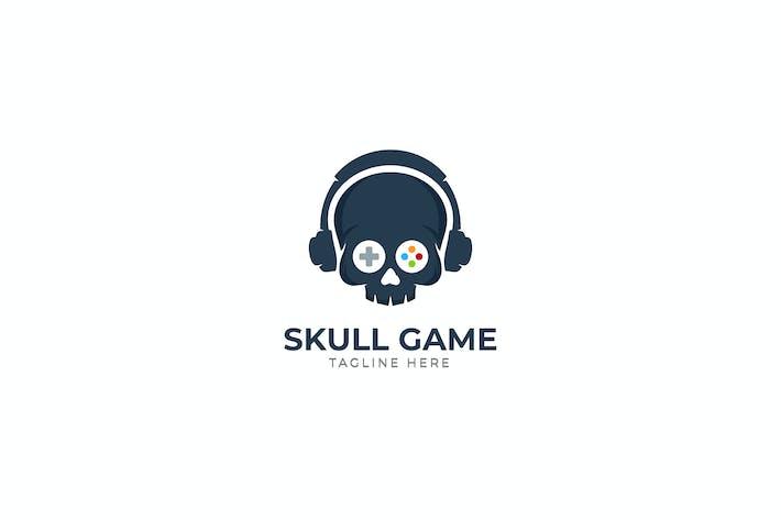 Thumbnail for Skull Game Logo Template