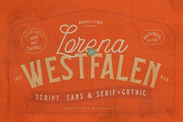 Lorena en Westfalen