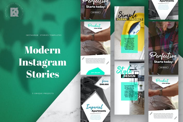 Thumbnail for Instagram Stories Modern Pack