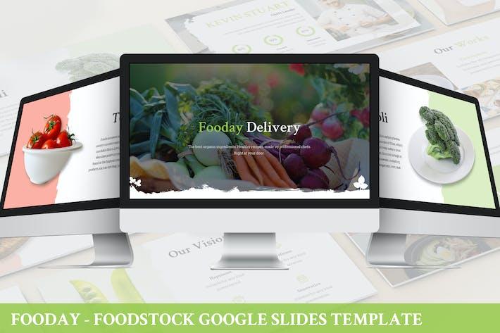 Thumbnail for Fooday - Foodstock Google Slides Template