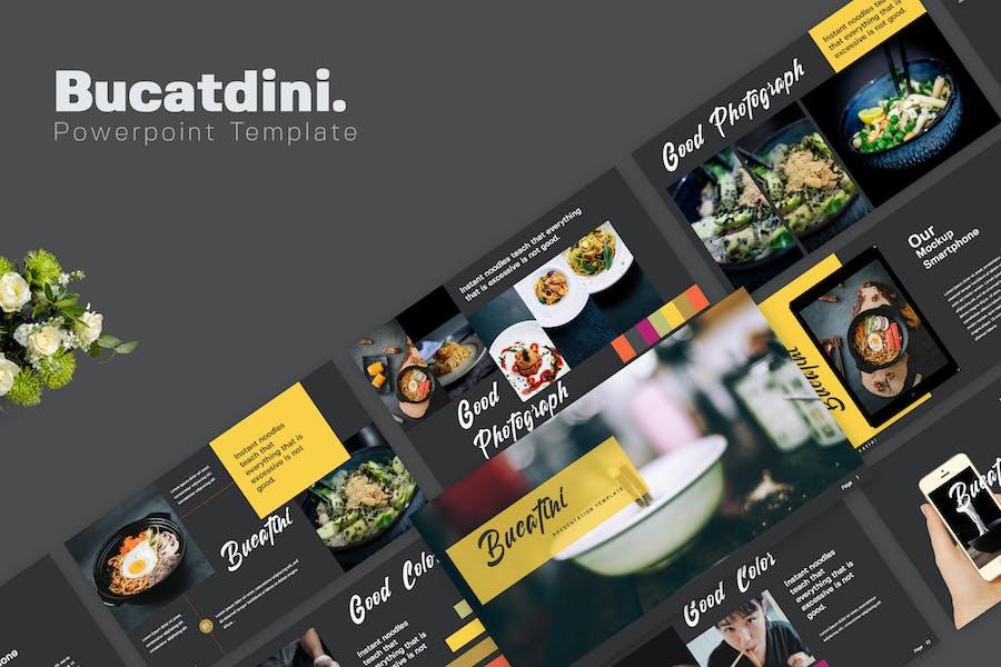 Bucatini Food Powerpoint Presentation