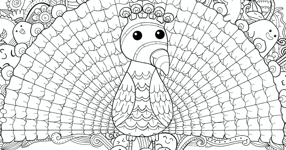 Download Peacock Doodle by medzcreative