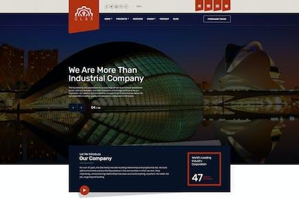 Glax | Industry WordPress Theme