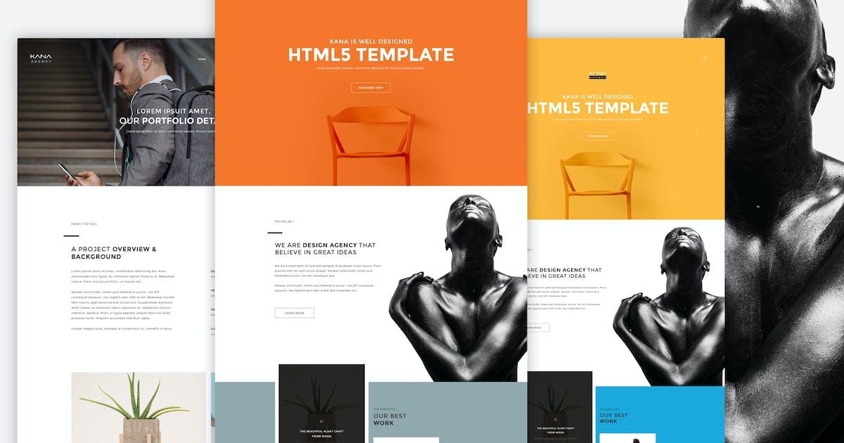 Download Kana - Creative Agency HTML5 Template by M_Adnan