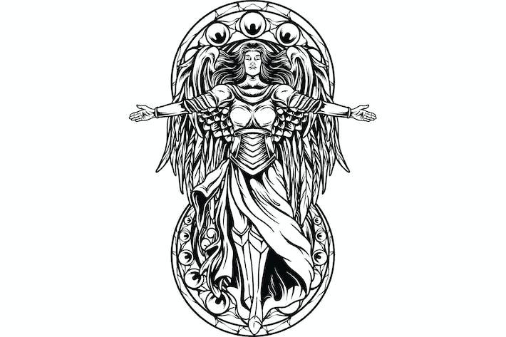 Thumbnail for Guardian Angel Illustration