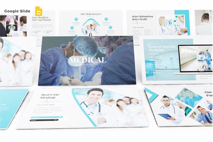 Thumbnail for MEDICAL - Google Slide V354