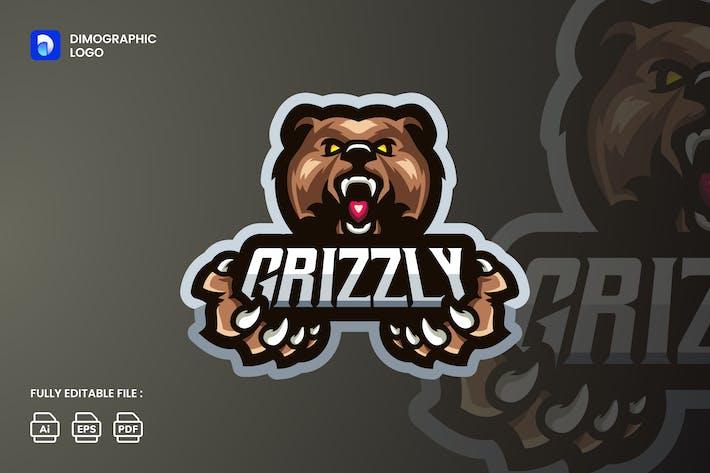 Grizzly Logo Esport UZ